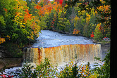 Photograph - Waterfalls Of Michigan by Michael Rucker