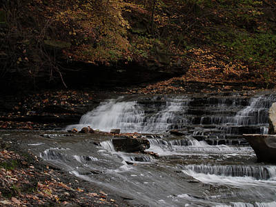 Photograph - Waterfalls by Stewart Helberg