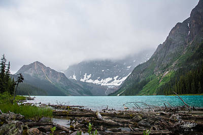 Photograph - Waterfowl Lakes by Adnan Bhatti