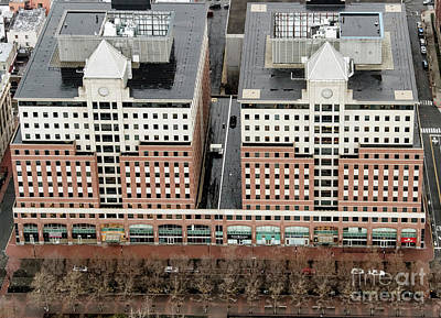 Photograph - Waterfront Corporate Center I And II Aerial Photo by David Oppenheimer