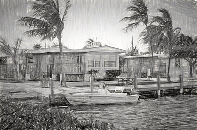 Photograph - Waterfront Cottages At Parmer's Resort In Keys by Ginger Wakem