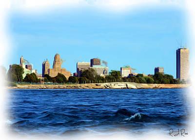 Digital Art - Waterfront Decay Four by Richard Ricci