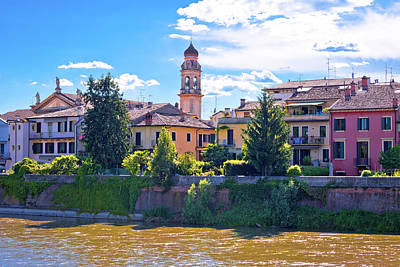 Photograph - Waterfront Of Adige River In Verona View by Brch Photography