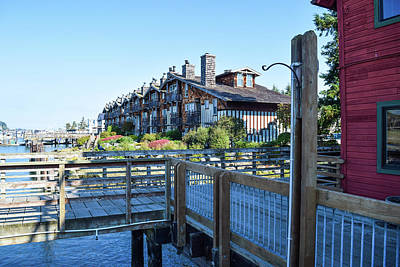 Photograph - Waterfront On The Swinomish by Tom Cochran