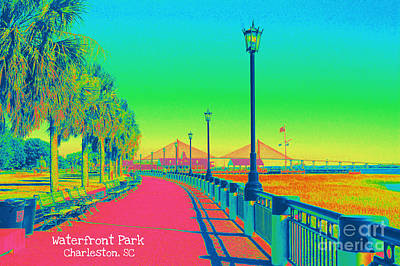 Photograph - Waterfront Park by Donna Bentley