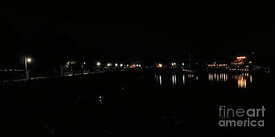 Painting - Waterfront Park October Night by Felipe Adan Lerma