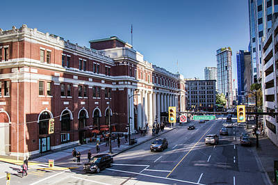 Photograph - Waterfront Station, Vancouver by Ross G Strachan