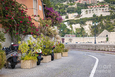 Photograph - Waterfront Street In Villefranche-sur-mer by Elena Elisseeva