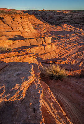 Photograph - Waterhole Canyon Sunset Vista by Lon Dittrick