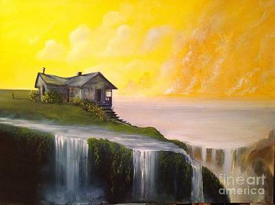 Painting - House Of Hope by David Kacey