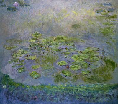 Waterlilies 1914-17 Art Print