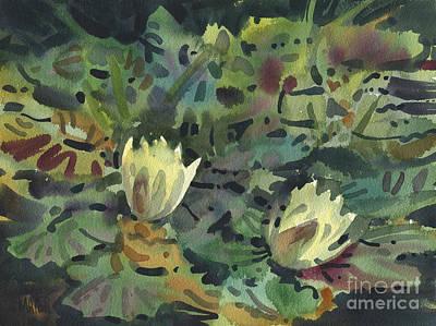 Waterlilies Original