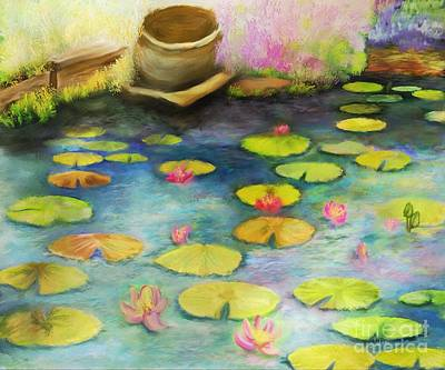 Digital Art - Waterlilies by Sydne Archambault