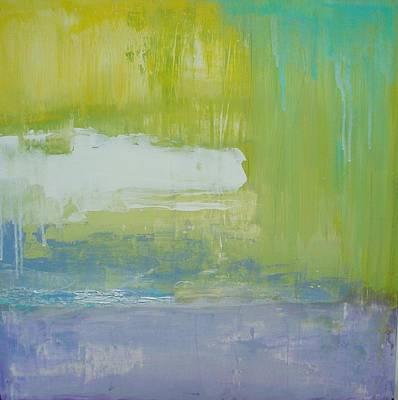 Waterlilly Art Print by Ora Birenbaum