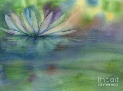 Royalty-Free and Rights-Managed Images - Waterlily by Amy Kirkpatrick