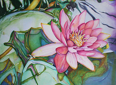 Painting - Waterlily by Christiane Kingsley