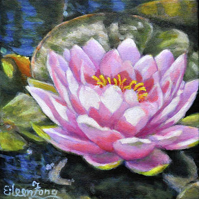 Painting - Waterlily In The Light 2 by Eileen  Fong