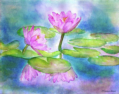 Painting - Waterlily by Janet Immordino