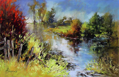 Painting - Waterline by Rae Andrews