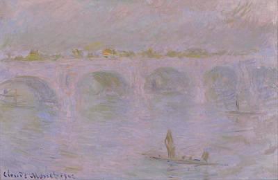 Painting - Waterloo Bridge In London by Claude Monet