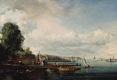 Painting - Waterloo Bridge by John Constable