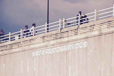 Photograph - Waterloo Bridge by Rasma Bertz