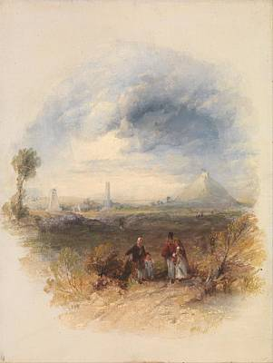 Painting - Waterloo By Thomas Creswick, Circa 1838 by Celestial Images