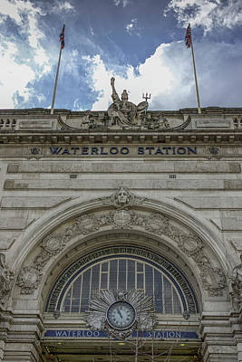 Photograph - Waterloo, London by Christopher Rees
