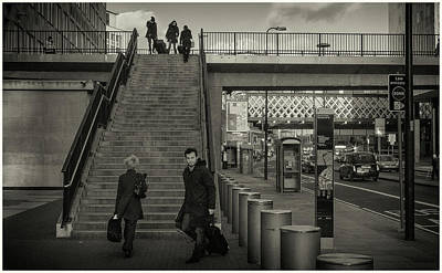 Photograph - Waterloo Steps by Stewart Marsden