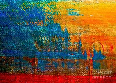 Painting - Waterloo Sunset by Michelle Deyna-Hayward