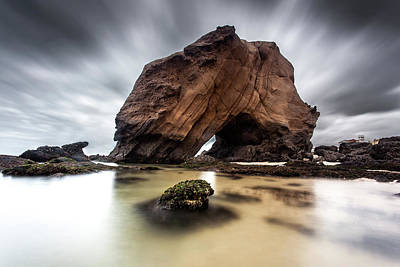 Sunset Photograph - Waterlord by Jorge Maia