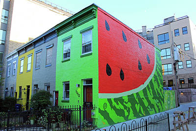 Photograph - Watermelon House by Cora Wandel