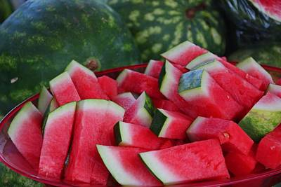 Photograph - Watermelon II by Michiale Schneider