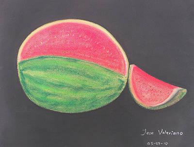 Watermelon Print by M Valeriano