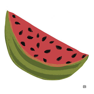 Painting - Watermelon by Lisa Weedn