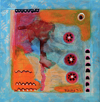 Mixed Media - Watermelon Melody by Donna Blackhall