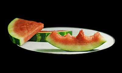 Watermelon Photograph - Watermelon Rind by Diana Angstadt