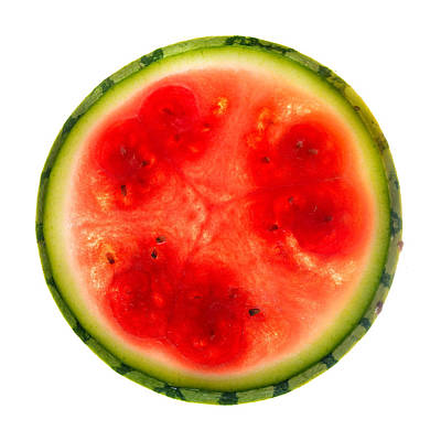 Watermelon Wall Art - Photograph - Watermelon Slice by Steve Gadomski
