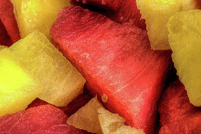 Photograph - Watermelon The Summertime Treat by JC Findley