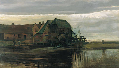 Watermill At Gennep Print by Vincent Van Gogh