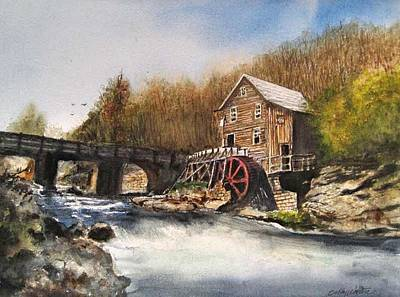 Painting - Watermill by Bobby Walters