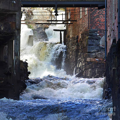 Photograph - Waterpower by Lutz Baar