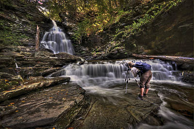 Ricketts Glen Photograph - Waterproof by Evelina Kremsdorf