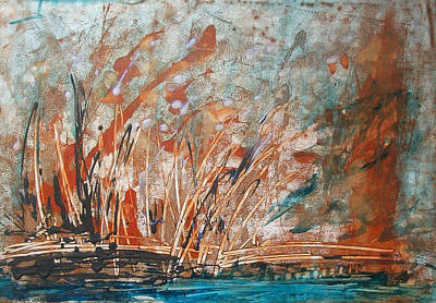 Painting - Water's Edge 1 by Sonal Raje