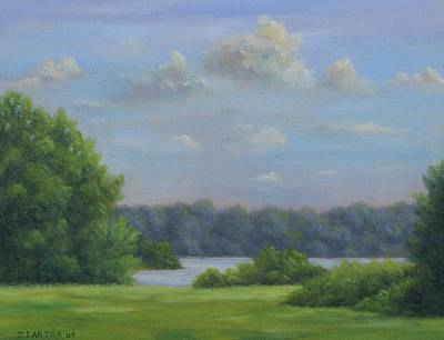 Carter.oil Painting - Waters Edge  Carter by John Carter