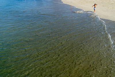 Photograph - Water's Edge by Derek Dean