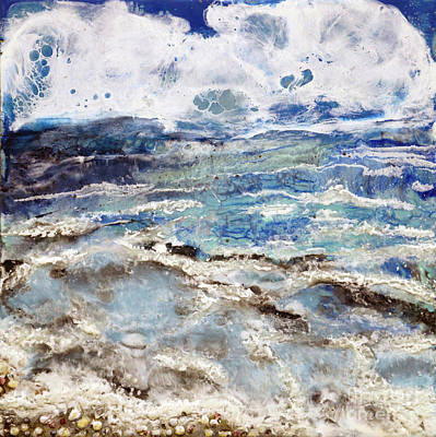 Painting - Water's Edge IIi by Laurie Tietjen