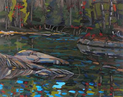 Waters Edge Original by Phil Chadwick