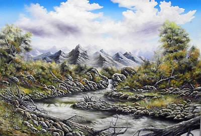 David Paul Painting - Waters Meet by David Paul