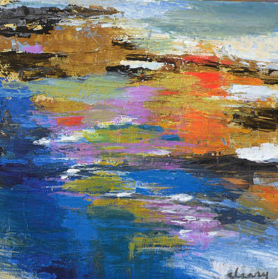 Painting - Water's Poetry No.2 by Melody Cleary
